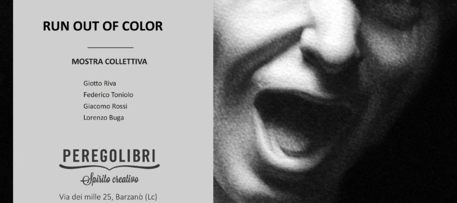 Error, run out the color. La mostra collettiva
